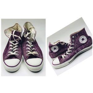Converse Chuck Taylors Sneaker Purple Unisex
